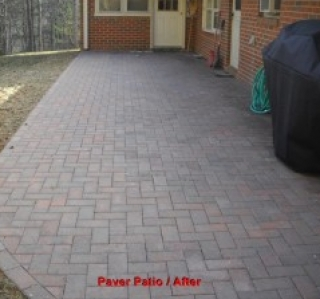 Paver Patio / After